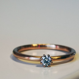 morandin ring rosegold brillant
